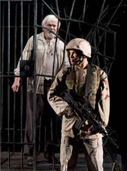 Kevin Tighe and Glenn Davis in