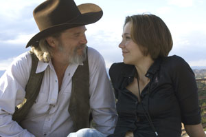 Jeff Bridges and Maggie Gyllenhaal in Crazy Heart