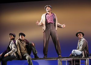 Derrick Cobey, Julius Thomas III, Brandon Victor Dixon,