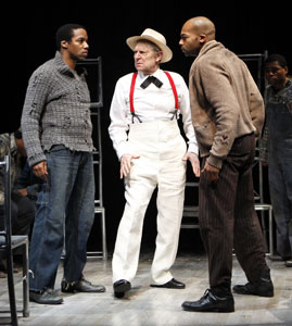 Rodney Hicks, John Cullum, and Brandon Victor Dixon