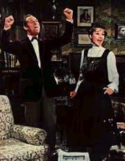 Rex Harrison and Audrey Hepburntango in My Fair Lady