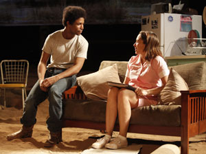 Amari Cheatom and Elizabeth Marvel in The Book of Grace