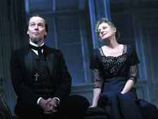 Iain Glen and Lesley Sharp in Ghosts