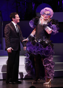 Michael Feinstein and Dame Edna