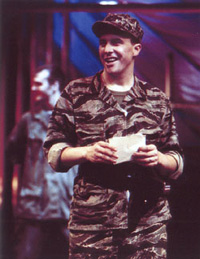 Jason Crowl as King Henry V, with