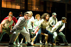A scene from Flashdance The Musical