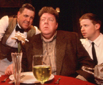 Jonathan Freeman, George Wendt,and Matt Stinton. Photo: James Leynse