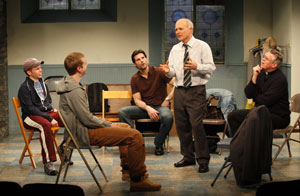 Roderick Hill, Brian Leahy, Austin Peck, Dan Butler,