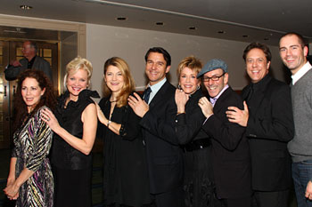 Elizabeth Futral, Christine Ebersole, Victoria Clark, Nathan Gunn,Jane Fonda, Ricky Ian Gordon, Stephen Powell, and Matthew Worth
