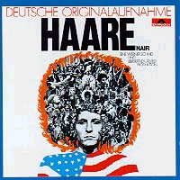 The first German cast recording of Hair,the show that started theforeign cast recording craze