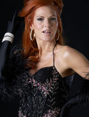 Quinn Lemley in Burlesque to Broadway