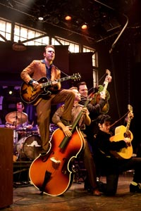 A scene from Million Dollar Quartet
