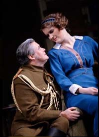 Conleth Hill and Justine Mitchell
