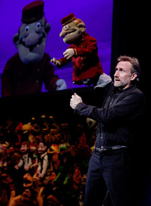 Brian Henson in Stuffed and Unstrung