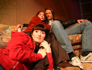 Marielle Heller (front) with Mariann Mayberry and
