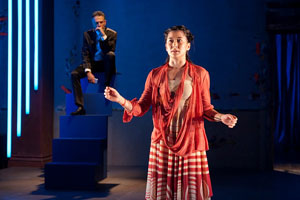 David Greenspan and Jennifer Ikeda in Rescue Me