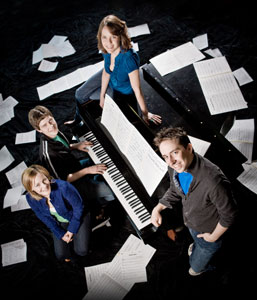 Erin Driscoll, Sam Ludwig, Jenna Sokolowski,