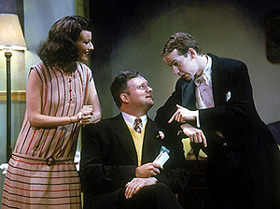 Rosemarie Dewitt, John Ellison Conlee, and David Turnerin The Butter and Egg Man