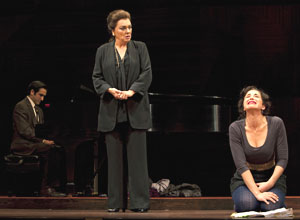 Jeremy Cohen, Tyne Daly, and Alexandra Silber