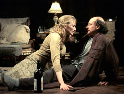Jan Maxwell and Peter Friedman in My Old Lady