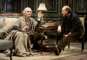 Si&acirc;n Phillips and Peter Friedman in My Old Lady(Photo: Craig Schwartz)