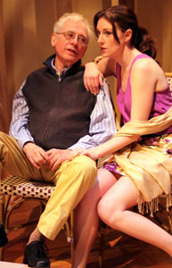 Austin Pendleton and Eleanor Handley