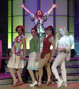 A scene from Girls Night: The Musical