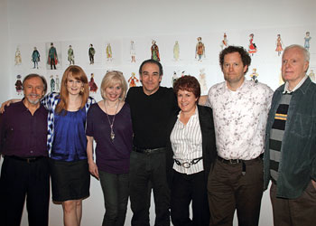 George Lee Andrews, Kate Baldwin, Nancy Opel, Mandy Patinkin,Jude Kaye, Shuler Hensley, and John McMartin
