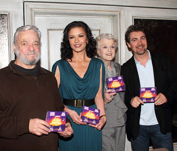 Stephen Sondheim, Catherine Zeta-Jones, Angela Lansbury and Alexander Hanson