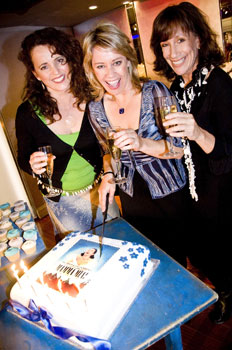 Sara West, Linzi Hateley, and Jane Gurnett