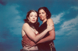 Maureen Porter and DeeAnn Wir in Antony and Cleopatra