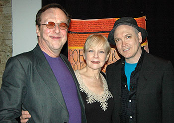 Edward Hibbert, Penny Fuller, and Charles Busch