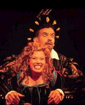Kate's Fred (Brian Stokes Mitchell) andLilli (Marin Mazzie) fight over who'sthe more interesting character