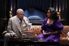 James Earl Jones and Phylicia Rashad