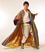 Keith Jack in Joseph and the Amazing Technicolor Dreamcoat (Photo courtesy of the company)