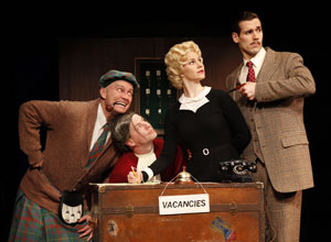 Jamie Jackson, Cameron Folmar, Kate MacCluggage,