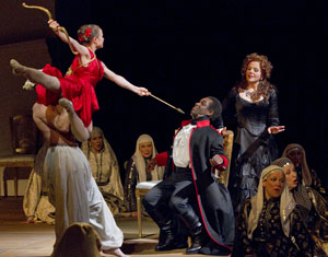 Teele Ude, Lawrence Brownlee, and Renée Fleming