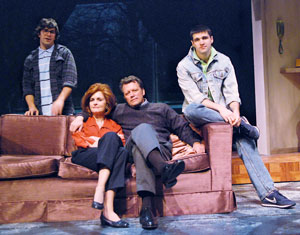 Brett Ryback, Candy Buckley, Steven Culp,