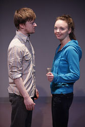 Steven Boyer and Kira Sternbach