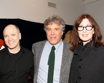 Charles Busch, Casey Childs, and Joanna Gleason