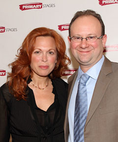 Carolee Carmello and Andrew Leynse