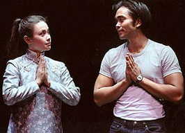 Love, don't look away:Lea Salonga and José Llana in Flower Drum Song(Photo: Craig Schwartz)