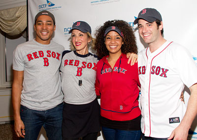 Charl Brown, Paula Leggett Chase, Stephanie Umoh, and Colin Donnell