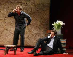 Jeff Daniels and Dylan Baker in God of Carnage