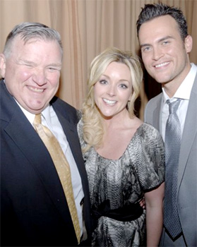 David Mixner, Jane Krakowski, Cheyenne Jackson