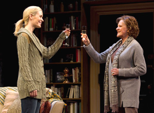 Sarah Paulson and Linda Lavin in Collected Stories