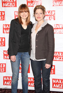 Allison Pill and Edie Falco