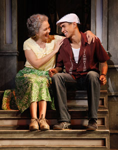 Elise Santora and Kyle Beltran