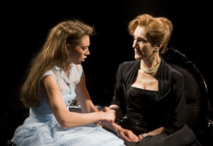 Vanessa Kirby and Harriet Walter