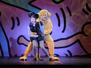 Allegra Kent and Frank Wood